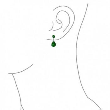 Bling Jewelry Simulated Sterling Earrings in Women's Drop & Dangle Earrings