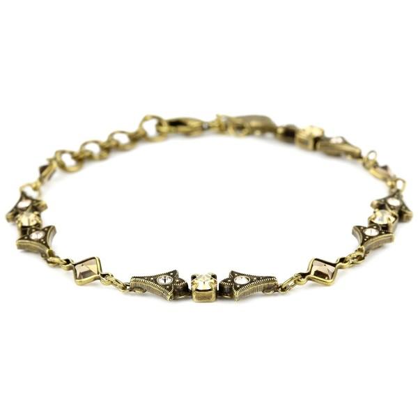 "Sorrelli ""Raw Sugar"" Slim Line Arrowhead Bracelet- 7.25"" - CV116PVC4VN"