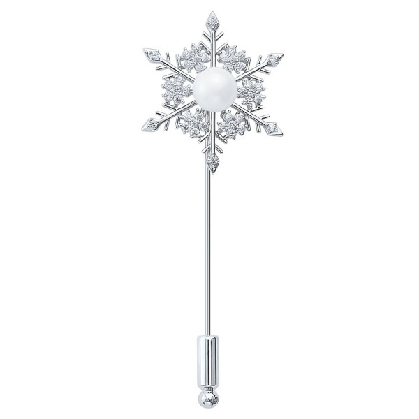 DMI Unique Jewelry Gold Tone Crystal Dandelion Floral/Cute Deer Stick Pin Brooch for Suit Tie - CI1888LZ8A8