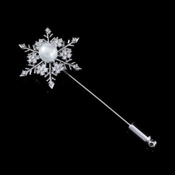 DMI Jewelry Dandelion Silver Color Snowflake