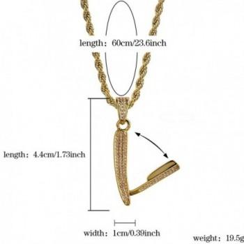 Plated Barber Scissors Pendant Necklace in Women's Pendants