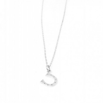 Horse Sterling Silver Necklace Jewelry
