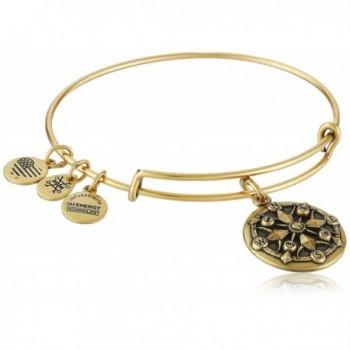Alex and Ani Compass II Expandable Rafaelian Bangle Bracelet - Rafaelian Gold - CW128Y575VV