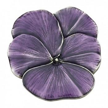 Danforth Pansy / Purple Pewter Brooch Pin - CA11C9957Q9