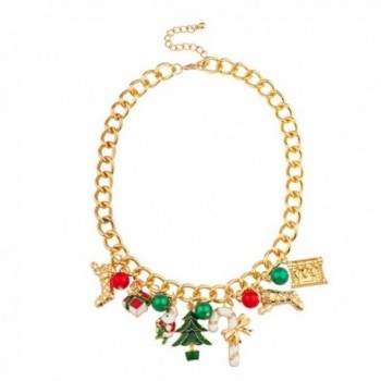 Christmas Xmas Stocking Santa Claus Gift Tree Candy Cane Jingle Ball Statement - CN11PW8RN4D