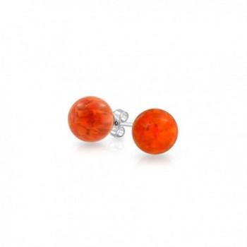 Bling Jewelry Simulated earrings Sterling in Women's Ball Earrings