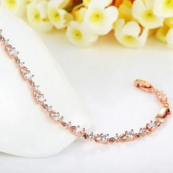 Bamoer Bracelets Sparkling Zirconia Crystal in Women's Bangle Bracelets