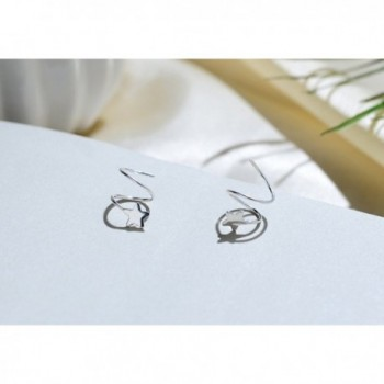 Sterling Silver Earrings Fashion FarryDream in Women's Cuffs & Wraps Earrings