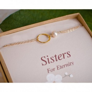 Dainty Eternity Bracelet Bridesmaid Gifts
