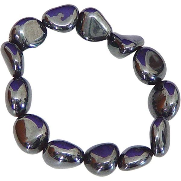Tumbled Stones Bracelet Hematite - C511HP03ECL
