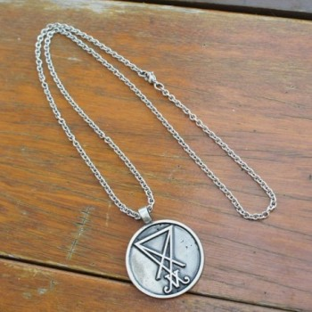 Lucifer Luciferian pendant necklace Stainless