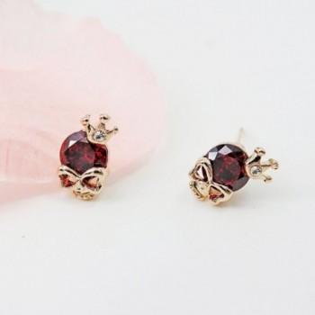 Onairmall Diamond Skeleton Earrings Fashion in Women's Ball Earrings