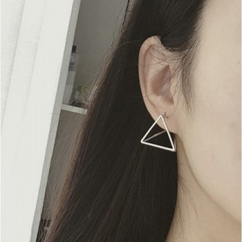 Beydodo Plated Earrings Minimalist Triangle
