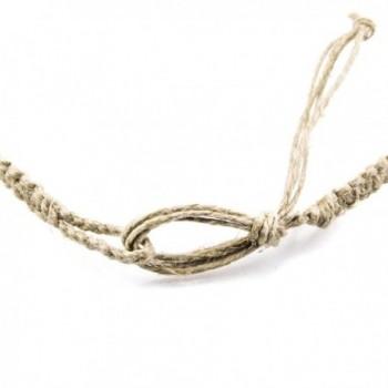 Hemp Choker Necklace Glass Turtle in Women's Choker Necklaces