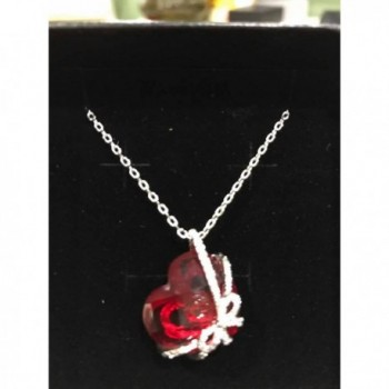 Bowtie Pendant Necklace SWAROVSKI Crystal in Women's Pendants