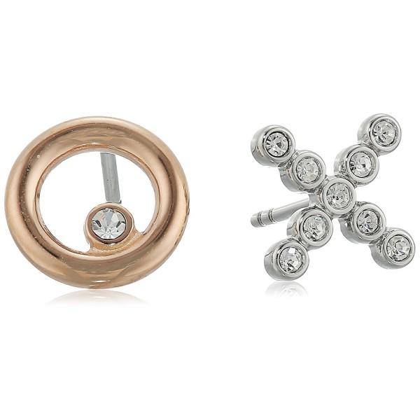 Fossil X and O Stud Earrings - CK12NSOQB7K