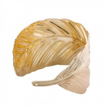 YAZILIND Alloy Leaves Design Bracelet
