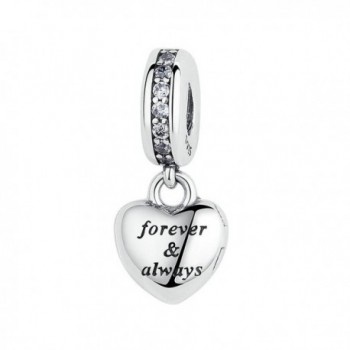 The Kiss My Beautiful Wife Forever and Always Dangle 925 Sterling Silver Bead Fits European Charm Bracelet - C717Y0DT6DM