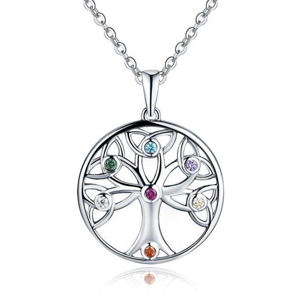 45cm // 18 inch 925 Sterling Silver Celtic Knot Pendant Necklace Design 4