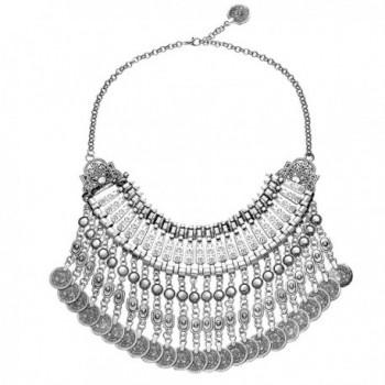 MJARTORIA Ethnic Antique Festival Necklace