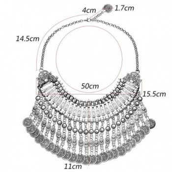 MJARTORIA Ethnic Antique Festival Necklace in Women's Pendants
