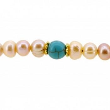 Freshwater Cultured Pearls Bracelet Necklace in Women's Wrap Bracelets