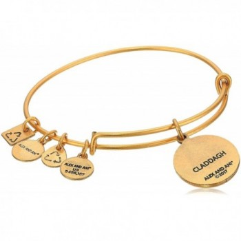 Alex Ani Claddagh Rafaelian Bracelet in Women's Bangle Bracelets