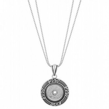 Ginger Snaps WAVY CONVERTIBLE PENDANT NECKLACE SN95-09 (Standard Size) Interchangeable Jewelry Accessory - CO12IMIXNAB