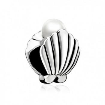 Charmed Craft Shell Charms Man-made Pearl Charm Beads For Bracelets - CV17YHCZGLC