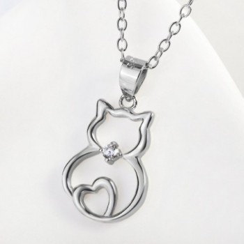 Sterling Silver Pendant Necklace Single