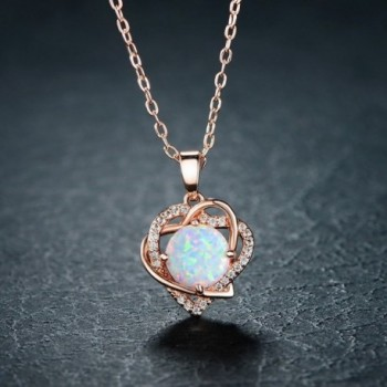 VOLUKA Plated Synthenic Pendants Necklace