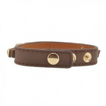 Womens Fashion Buckle Leather Bracelet