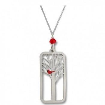 Sienna Sky Cardinal in Tree Necklace N1614 - C412HMVRVDZ