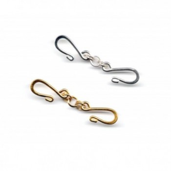 2 Gold Plated or Silver Plated Shorteners for Beaded Necklaces or Chains - Nickel Free - CO12BHNKQ0J
