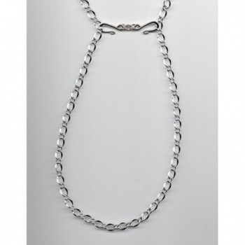 Plated Silver Shorteners Beaded Necklaces in Women's Chain Necklaces