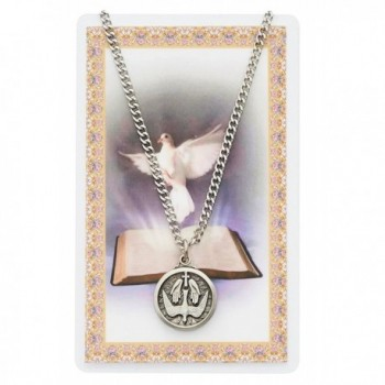 Holy Spirit Necklace and Prayer Card Set (McVan PSD600HS) - CE114BLI02V