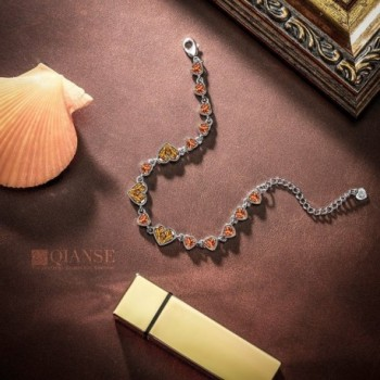 QIANSE Bracelet Swarovski Anniversary Girlfriend in Women's Tennis Bracelets