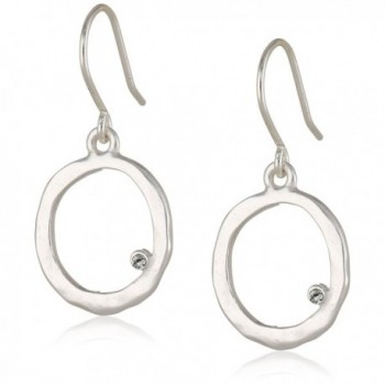 Kenneth Cole New York Silver-Tone Circle Earrings - C1115D163YZ