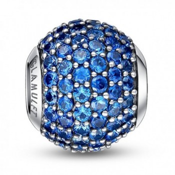 Glamulet Sterling Birthstone Crystal December - December ** Blue Zircon - CB126TOZQ65