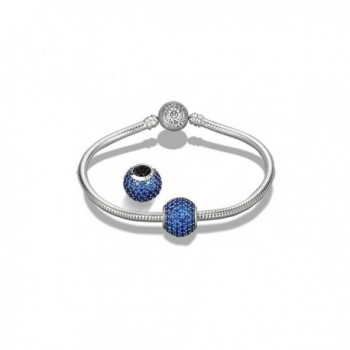 Glamulet Sterling Birthstone Crystal December