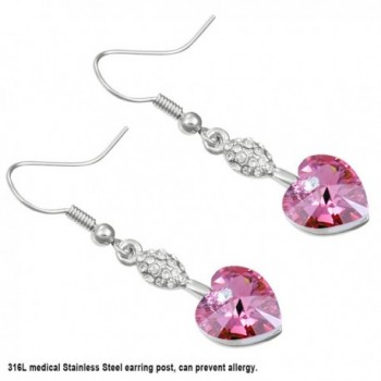Sparkling Swarovski Elements Crystal Earrings