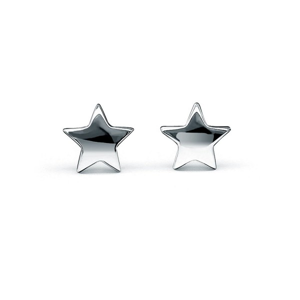 HANFLY Star Earrings Sterling Silver Star Stud Earrings Tiny Star Earrings - CA12MA4UW6H