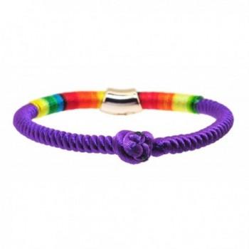 Braided Rainbow Kabbalah Bracelet Protection