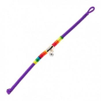 Braided Rainbow Kabbalah Bracelet Protection in Women's Strand Bracelets