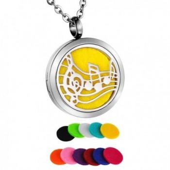 HooAMI Aromatherapy Essential Diffuser Necklace - A(Velvet Bag) - CQ12KVJPOIJ