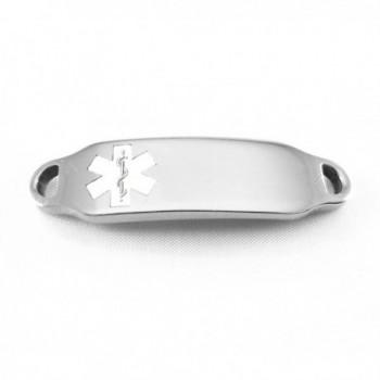 MyIDDr Medical Identification Attached Bracelet in Women's ID Bracelets
