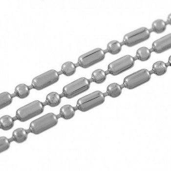 HooAMI Stainless Necklace Bracelet 4mmx2mm