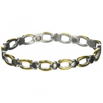 Sabona Ladies' Classic Casual Magnetic Bracelet- L/XL- 1 Ounce - CP1134BPOFP