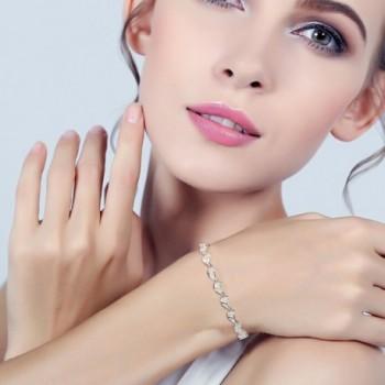 EVER FAITH Sterling Gorgeous Bracelet