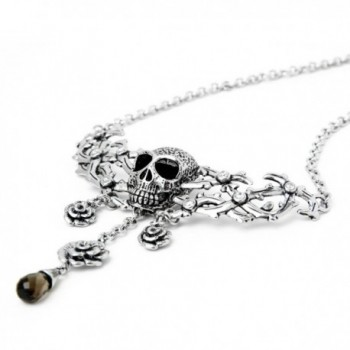 Controse Antiique Silver Toned Stainless Necklace